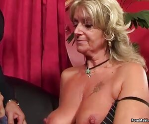 Սեւ Boss տաք տնային տեսանյութ փորձել քարտուղար Լենա Paul